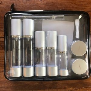NWOT Sephora reusable travel container set